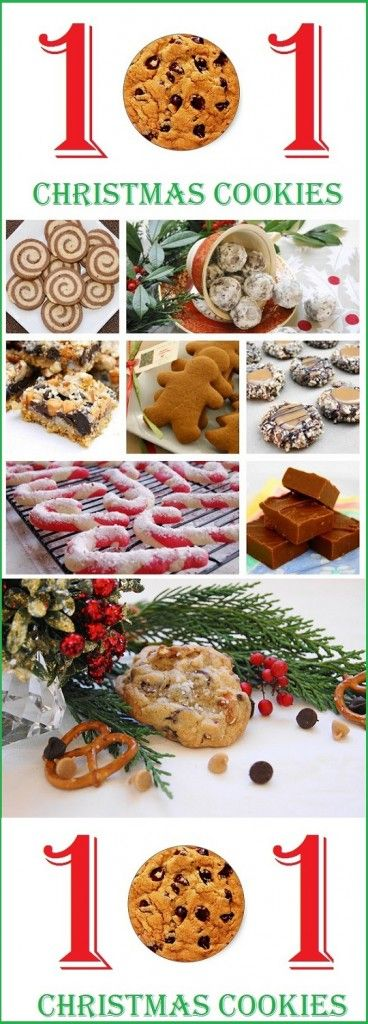 101 christmas cookie recipes, christmas cookie recipes