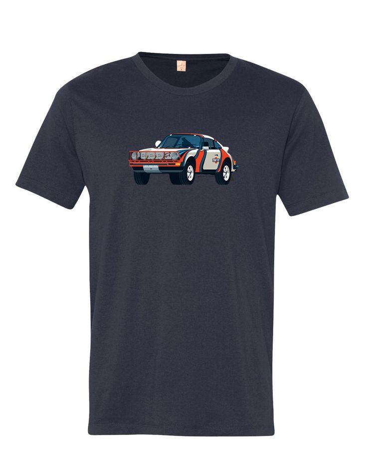 porsche 911 sc safari car in martini livery on midnight. Black Bedroom Furniture Sets. Home Design Ideas