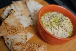 Baba Ganoush - I bought fresh beautiful eggplants today at the farmers market and I'm going to try making this tonight!