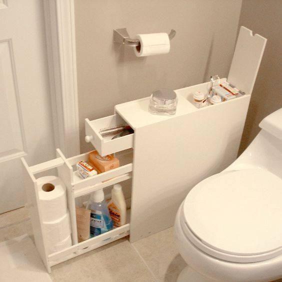 Manten las cosas de tu baño en orden con estas geniales ideas   Decoración