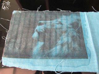 Мастер-класс печати на ткани - Ярмарка Мастеров - ручная работа, handmade