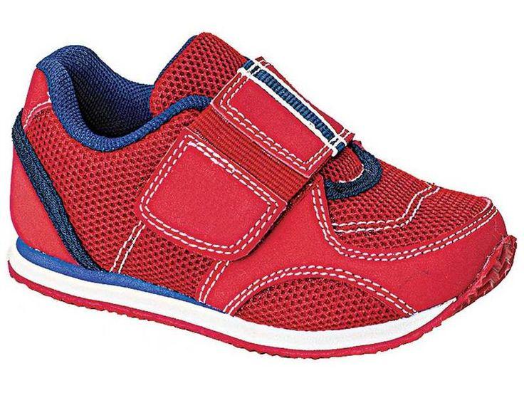 Детские красные кроссовки