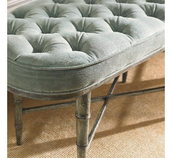 The Finishing Touch : New Traditional : LIVING - BENCHES ~ OTTOMANS : TRA-UPHBEN-002 | Caracole Furniture