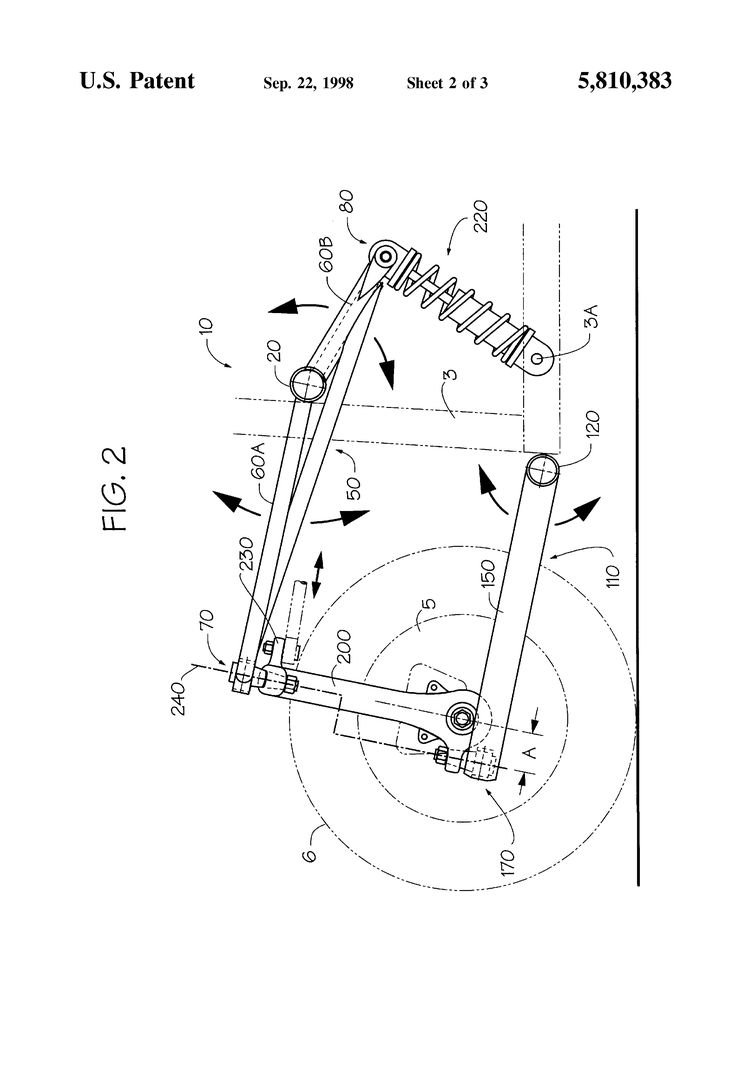 Trike suspension pat 5810383