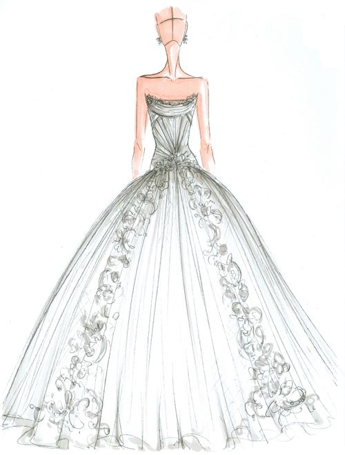 best 25 wedding dress sketches ideas on pinterest dress