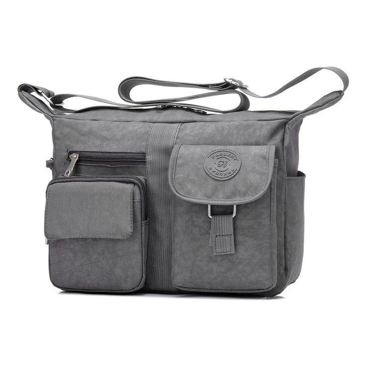 Fabuxry Women's Shoulder Bags Casual Handbag Travel Bag Messenger Cross B... New #Fabuxry #Gray
