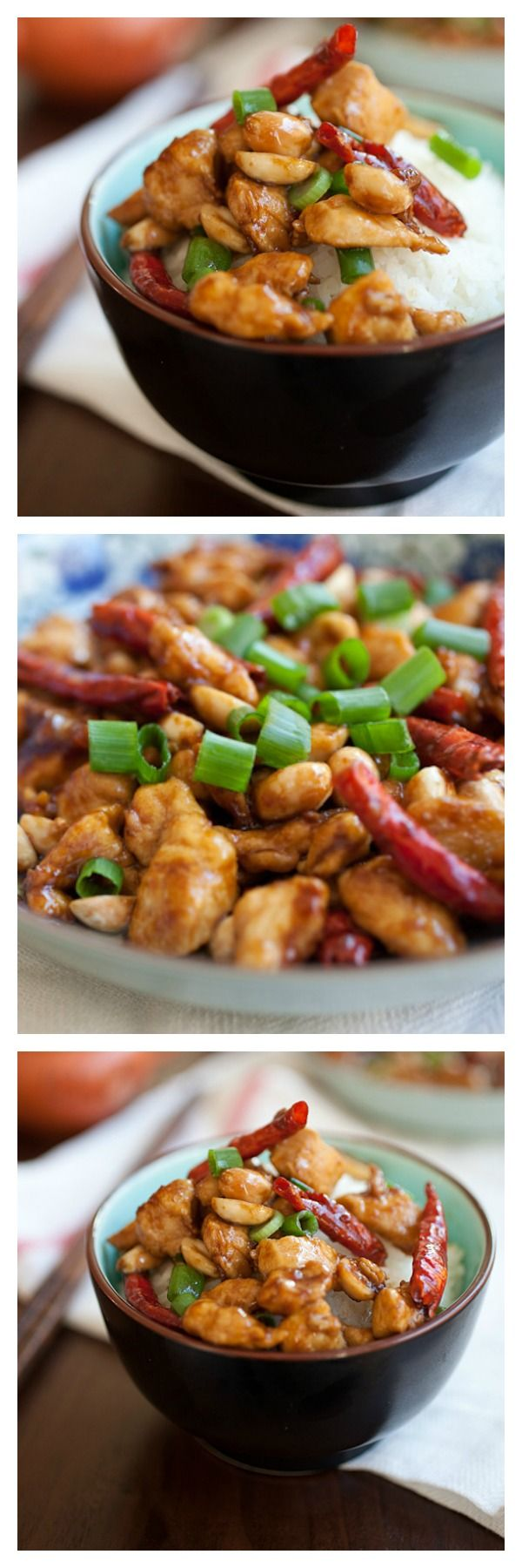 Kung Pao Chicken at home. You can make your favorite Chinese takeout with this easy, no-fuss, quick recipe | Follow @rasamalaysia for easy Asian recipes at home.
