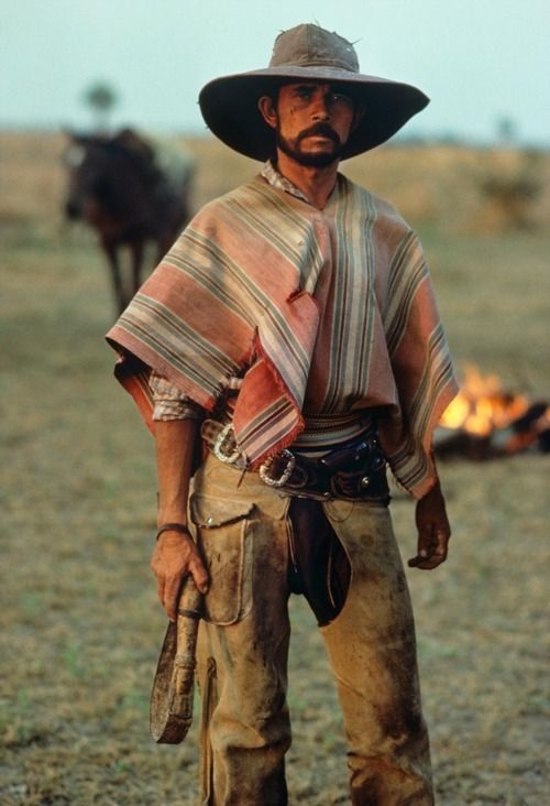 "I wish I'd wake up as a ""gaucho"" the cowboys of the Andes. Way more badass than the stereotypical Western cowboy. These guys are so bohemian and overall awesome, plus they live all over the Southern Cone (Chile, Uruguay, Argentina, Paraguay) Not my words!"