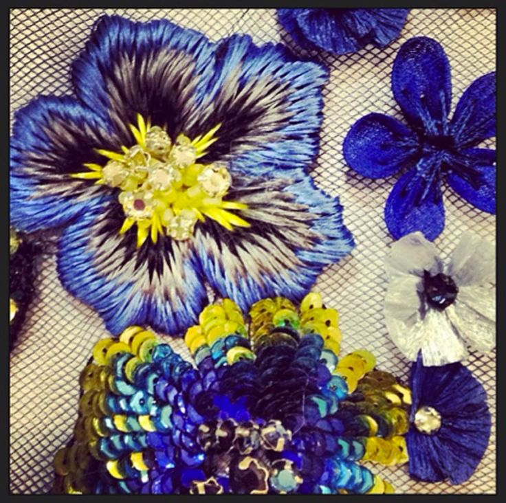 Matthew Williamson embroidery