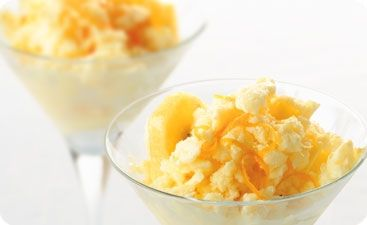 Lemon Yogurt Sherbet | Sweet Treats | EasiYo Recipes | EasiYo Yogurt