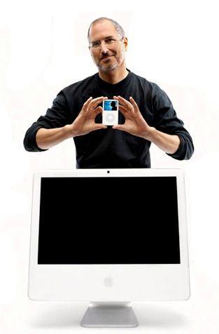 Steven Jobs Produtos iMac G5 and Intel (with iSight) Oct 2005 - Sep 2007