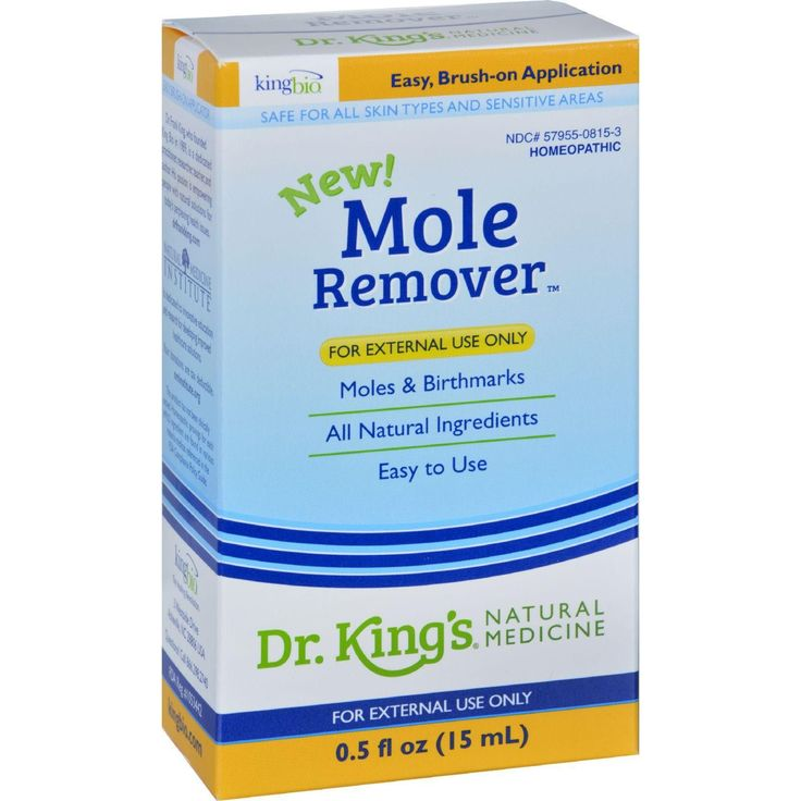 King Bio Homeopathic Mole Remover - .5 Oz