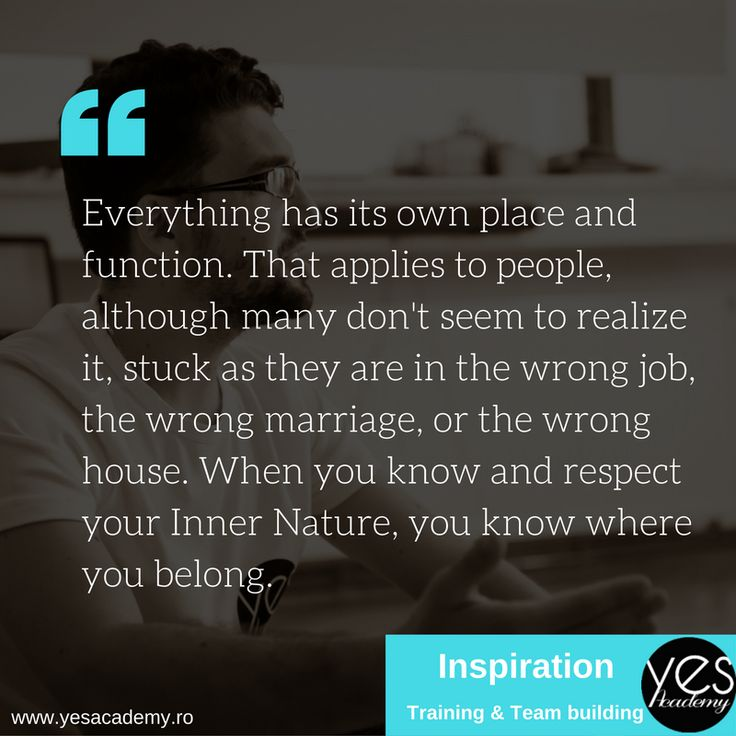 Everythings has its own place and function. #yesacademy #motivation #training #personaldevelopment