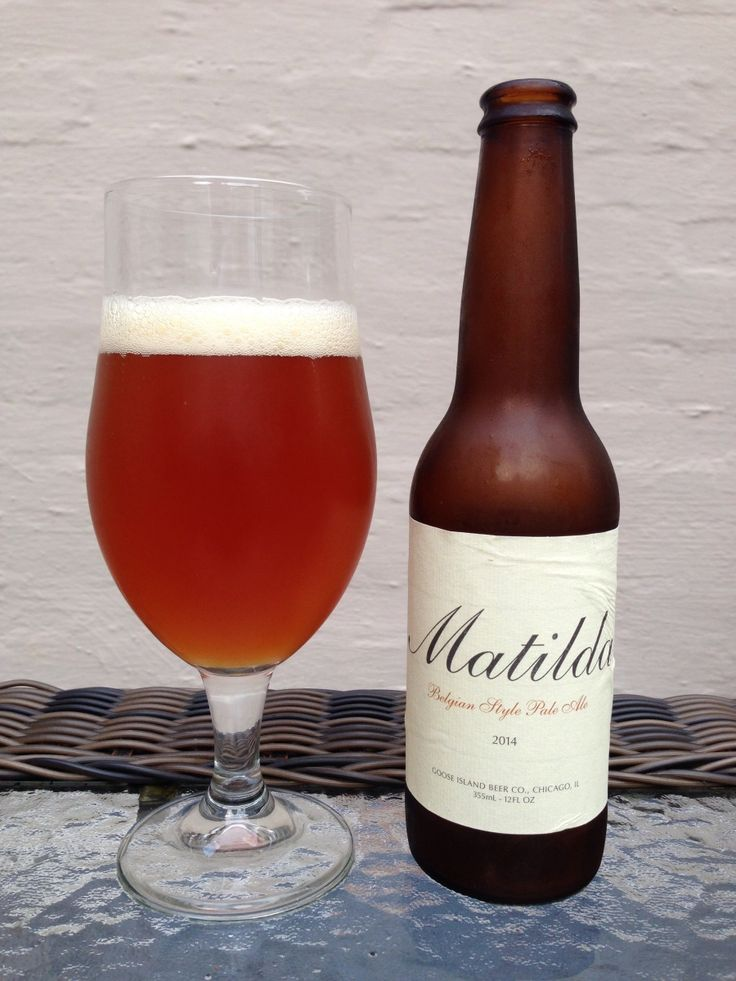 Goose Island Matilda:  Day 3: Goose Island Matilda from Goose Island Beer Company. Style of beer is 'Belgian Pale Ale'. ABV is 7.0%.   Read more at http://www.beerinfinity.com/beer-of-the-day-goose-island-matilda/.