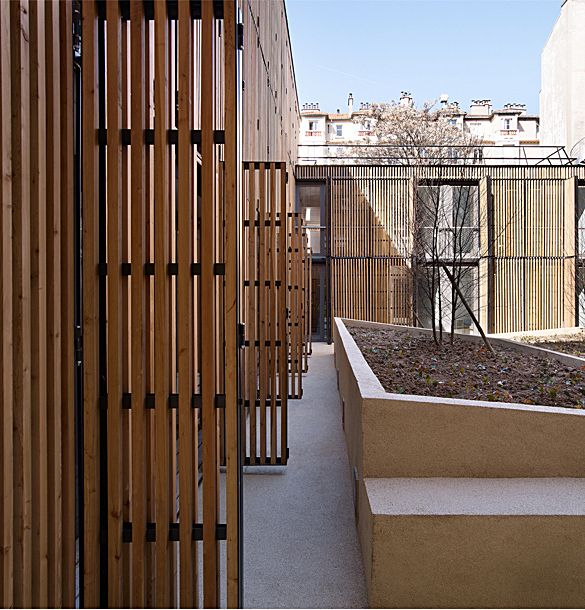 Best 25+ Wood facade ideas on Pinterest | Wood architecture, Concrete facade  and Industrial vertical blinds