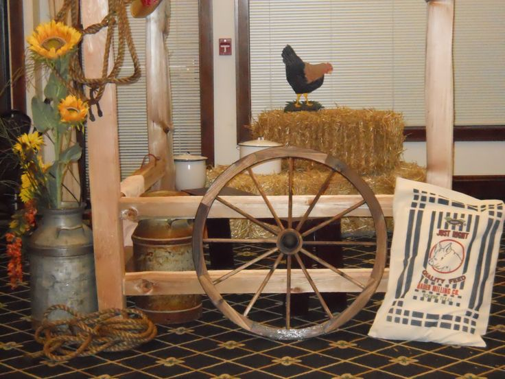 Props Used At Western Themed Party Western Cowboy