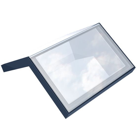 The Ridgeglaze rooflight flows seamlessly with the apex of any roof. All the same qualities you get from our usual flat fixed rooflight design: no visible internal framework; low emissivity heat soak tested glass as standard with the option of triple glazing; custom-built to the size and pitch of the roof you want to transform with natural light.