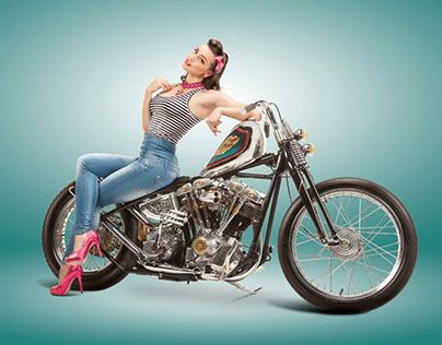 """Check out new work on my @Behance portfolio: """"Delicious Pin-Up by Simone Romeo for EICMA"""" http://be.net/gallery/32705161/Delicious-Pin-Up-by-Simone-Romeo-for-EICMA"""
