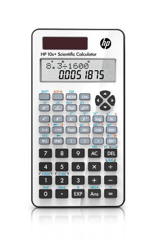 Hewlett Packard 10S+ Engineering/Scientific Calculator by HP. $11.99. User-friendly design, easy-to-read display and a wide range of algebraic, trigonometric, probability and statistics functions for your Math and Science classes
