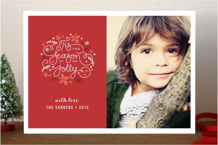 #3. Tis the Season by @Jenn L Wick from Harrisburg, PA. Announcing @Minted #Holiday2012 design challenge winners.Christmas Cards, Jennifer Wicked, Cards Ideas, Wicked Design, Mint Holiday2012, Holiday Photos Cards, Announcements Mint, Challenges Winner, Holiday2012 Design