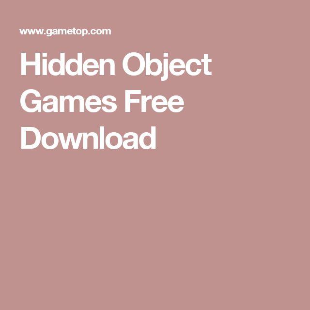 Hidden Object Games Free Download
