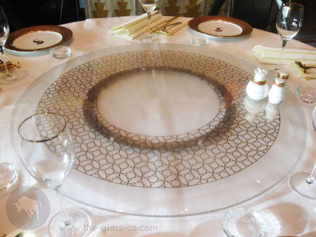 lazy susan tray by
