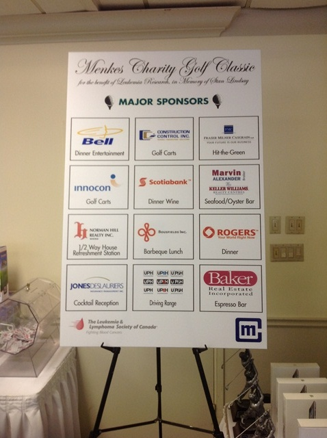 A huge thank-you to all of our sponsors!