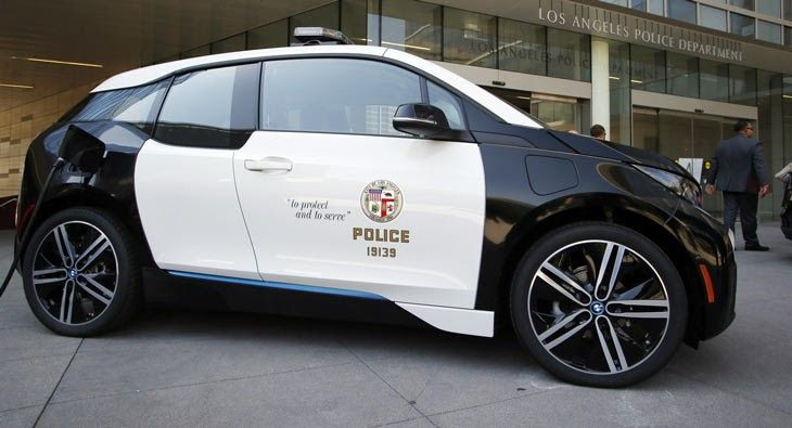 LAPD Chooses BMW i3 Over Tesla Model S #BMW #BMW_i3