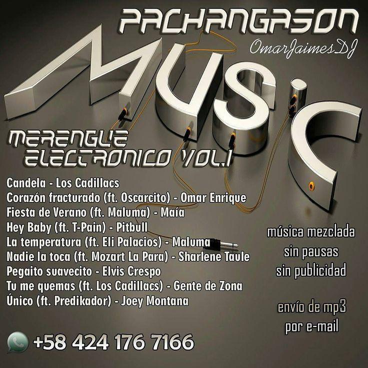 @pachangason #PachangaSon #Merengue Electrónico Vol.1 #TuDJSinDJ Música sin pausas ni publicidad Ideal para rumbas eventos reuniones locales comerciales. Pedidos directamente al Whatsapp 58 424 176 7166 Envíos por e-mail a cualquier parte donde te encuentres #music #musica #musically #mp3 #dj #mix #worldwide #argentina #chile #colombia #venezuela #españa - #regrann