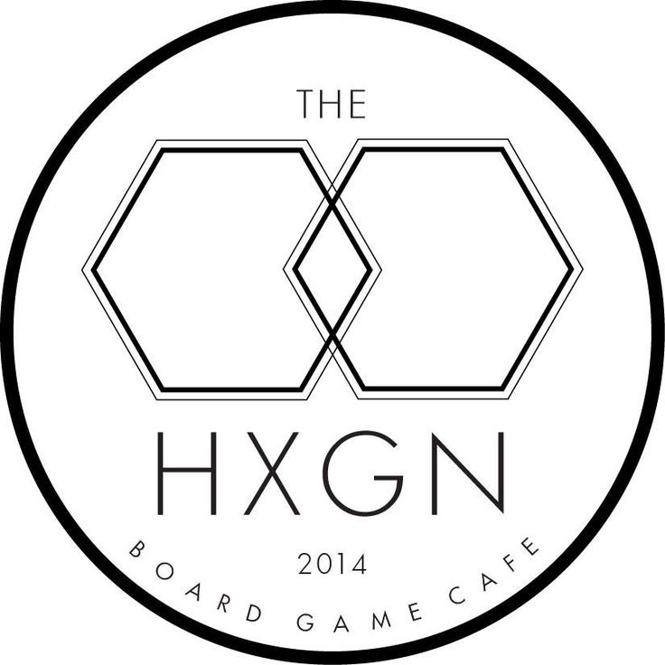 Hexagon Board Game Cafe Menu