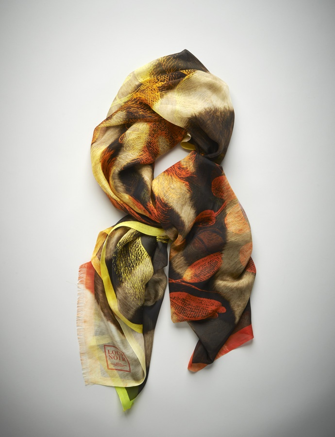 #LION scarf as seen in Monocle by LOUP NOIR
