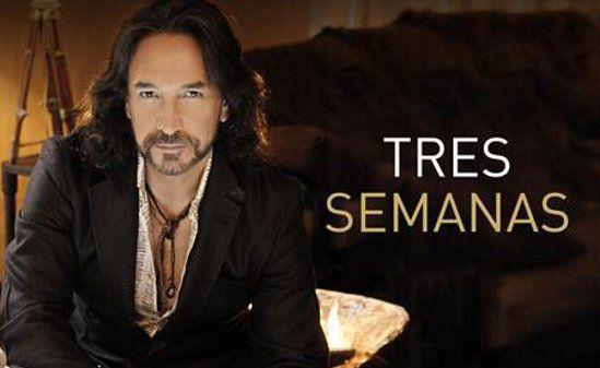 """Marco Antonio Solis presenta """"Tres Semanas"""" primer sencillo de su nuevo álbum"""