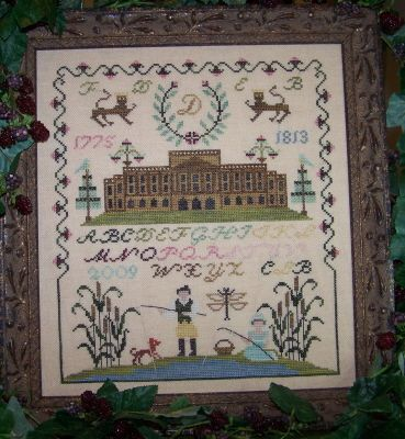 Mr. and Mrs.Darcy of Permberly by The Stitching Parlor