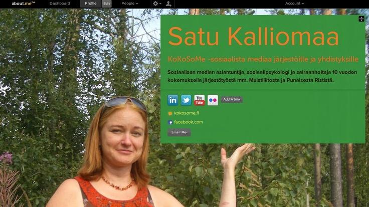 Satu Kalliomaa  Here in Pinterest: http://pinterest.com/satumaan/