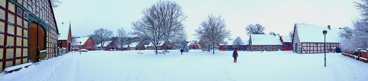 Winterwonderland im Rundlinglingsdorf