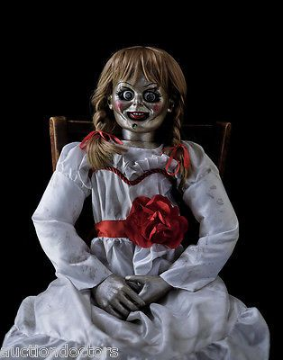 THE CONJURING 2 ANIMATRONIC ANNABELLE HAUNTED HORROR MOVIE PROP PUPPET DOLL OOAK