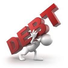 Evolución de la deuda pública.