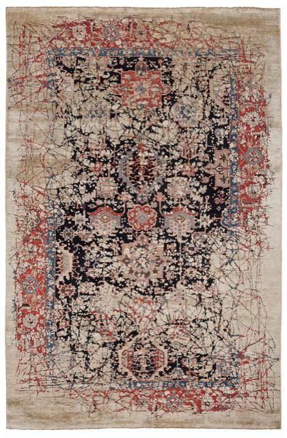 Bidjar Piccadilly Pleasure rug by JAN KATH (NYC)