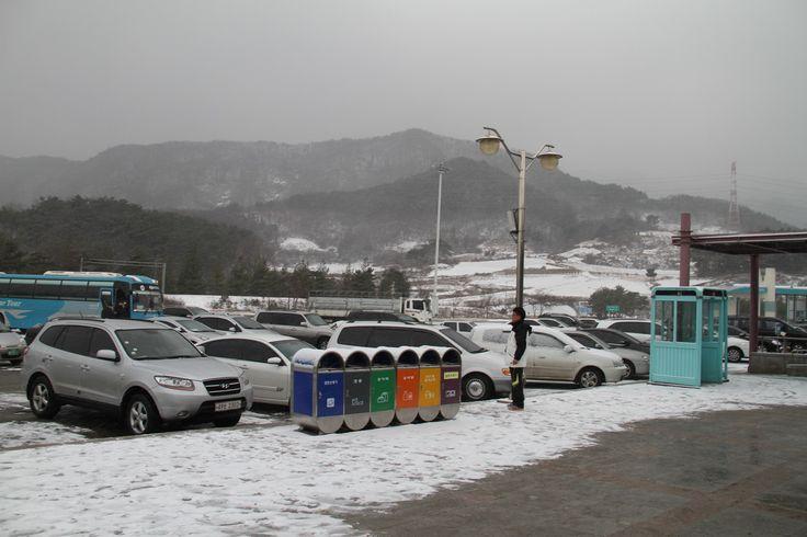 snow......