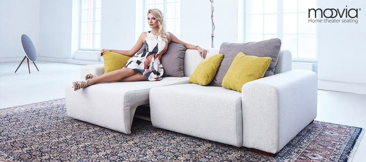 BUDAPEST  MOOVIA ® HOME-THEATER SEATING Exquisite design, exceptional upholstery materials, and fascinating possibilities for adjustment: The functional sofa BUDAPEST will turn your home theater or living room into an extravagant comfort zone. http://moovia.de/budapest-2/