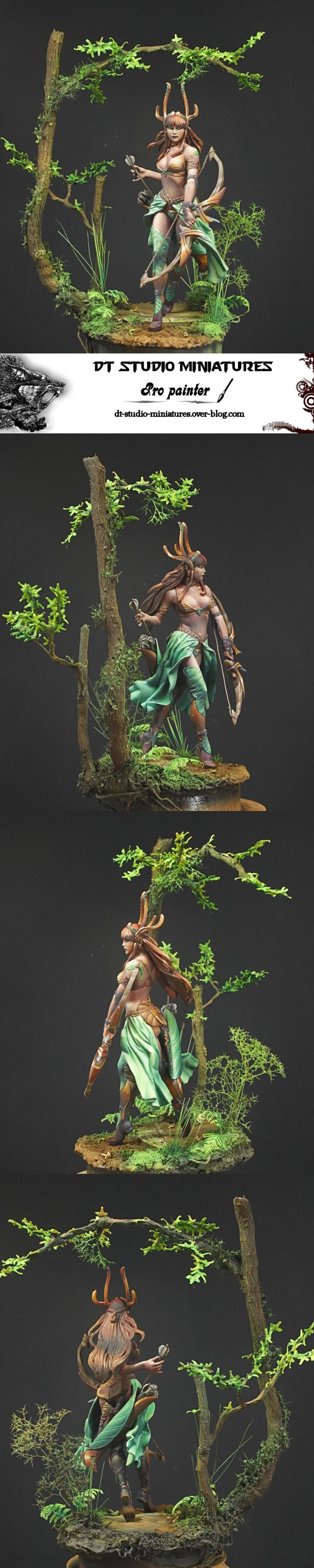 Wood elf by CoolminiorNot poster Aphorys