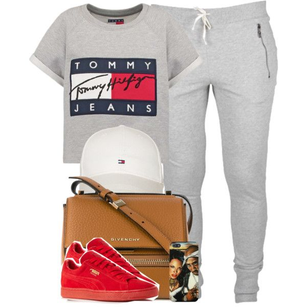 Tommy Hilfiger x Puma by cheerstostyle on Polyvore featuring Hilfiger, Puma, Givenchy and Tommy Hilfiger