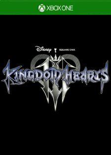 Kingdom Hearts III Xbox One Cover Art