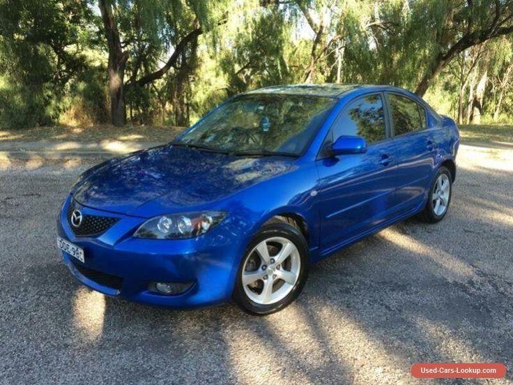 2005 Mazda 3 BK Maxx Sport Blue Manual 5sp M Sedan #mazda #3 #forsale #australia
