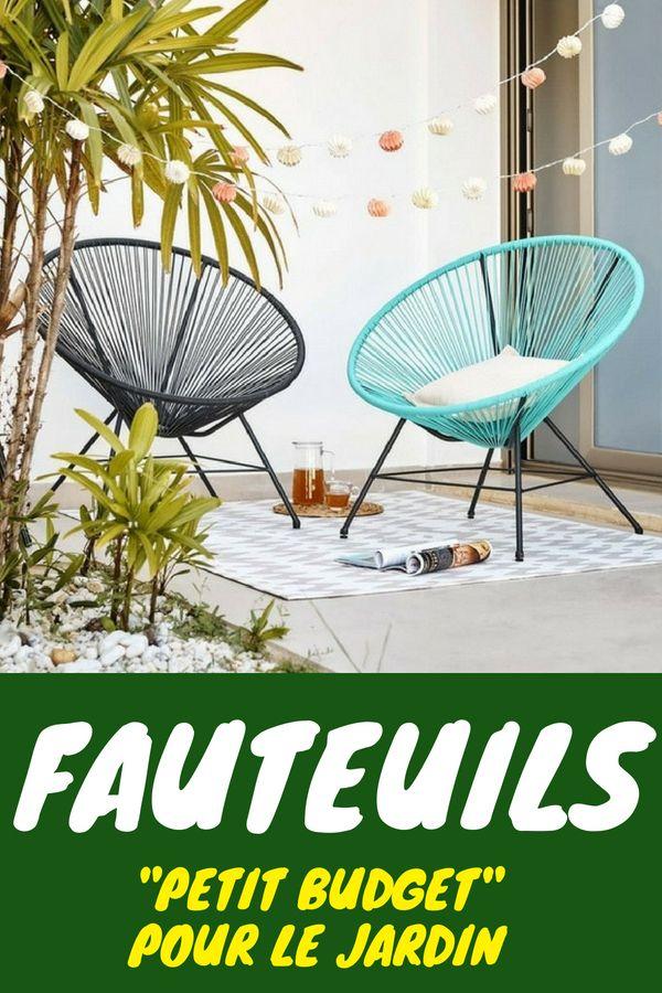 ALERTE BON PLAN : des fauteuils style acapulco à seulement ...