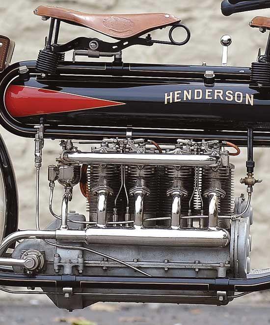 Sidevalve of the 1912 Henderson