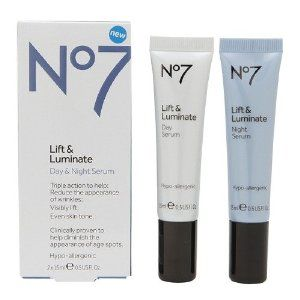 Boots no. 7 lift and luminate eye cream
