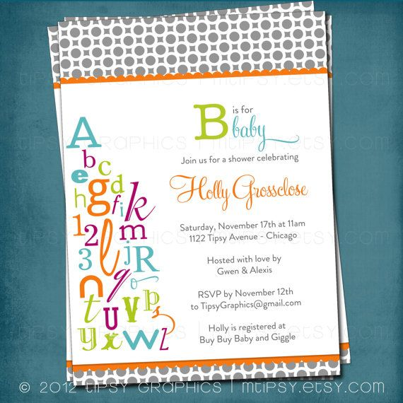 Letter From Baby To Baby Shower Guests: 25+ Best Ideas About Alphabet Baby Showers On Pinterest