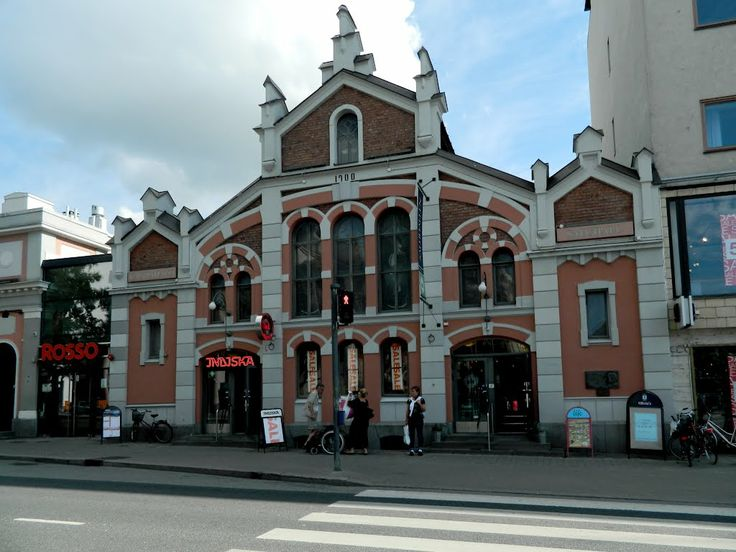 Kauppahalli - Market hall, - Vaasa, Finland.