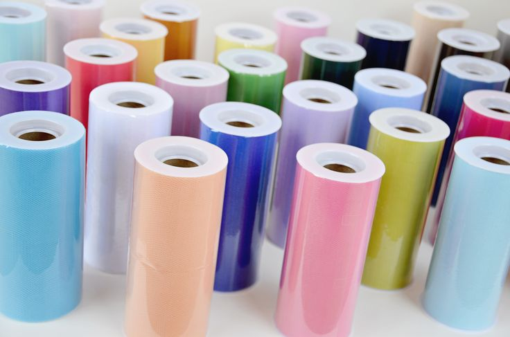 "Our tulle rolls are made with the crafter in mind! 6""x25yds of high quality, super soft nylon tulle, in a variety of vibrant colors perfect for all of your crafting needs. From tutus to gift wrapping"